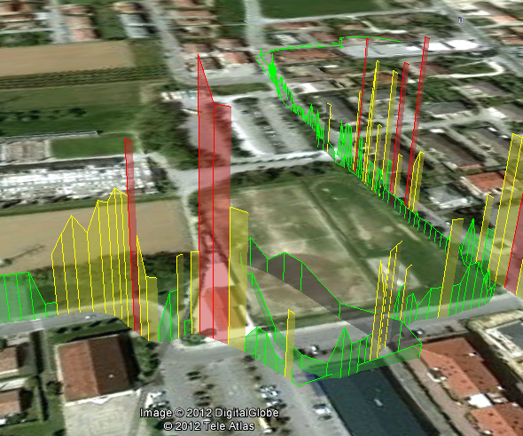 Exemple fichier KML cartographie de données
