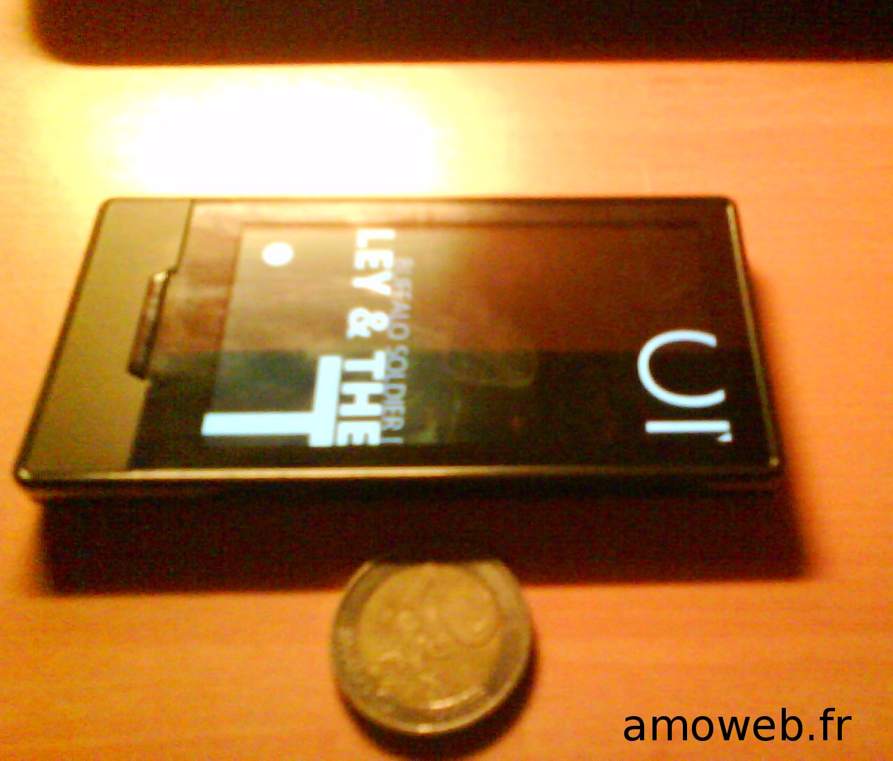 Zune HD vue petite taille pièce 2€