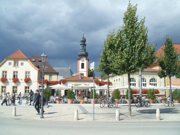 Schlossplatz Schwetzingen