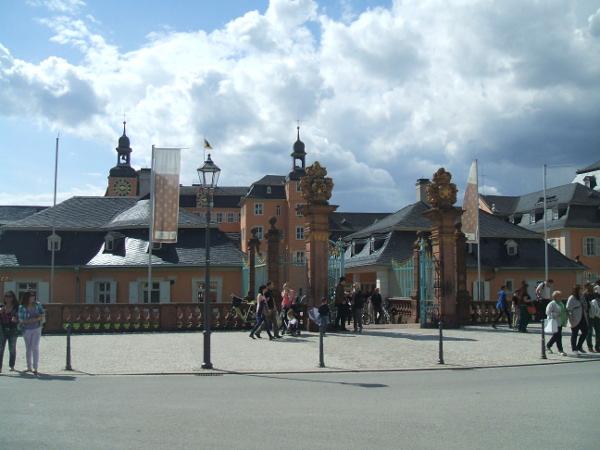 Entrée du chateau de Schwetzingen