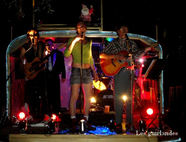 Les guirlandes en concert