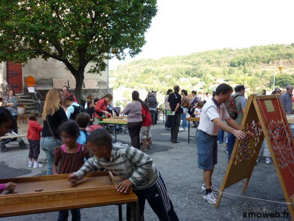 Jeux bois Turlupinades 2009 Saint Donat