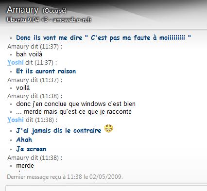 Windows c'est bien