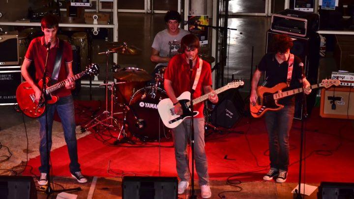 Photo de Bloody Berries sur scène. Photo de Charly.